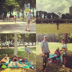OH: not all Mondays are bad. #Vigu  #uwcsea_east #7pgu #picnic #longboard #football #soccer