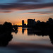 Sunset at Salford Quays, Manchester by G-WWBB