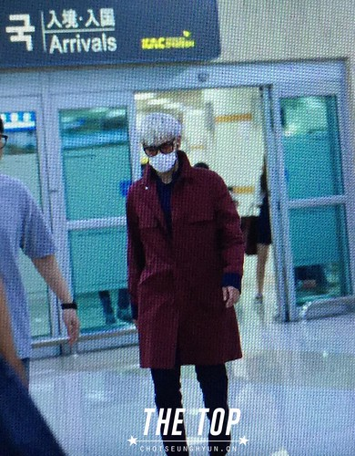 Big Bang - Gimpo Airport - 23aug2015 - The TOP - 01