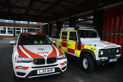 Newly refurbished Camberley Fire Station