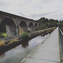 Chirk Aquaduct this afternoon.