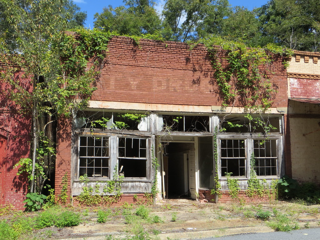 Alabama russell county hatchechubbee - Abandoned Drug Store Seale Al