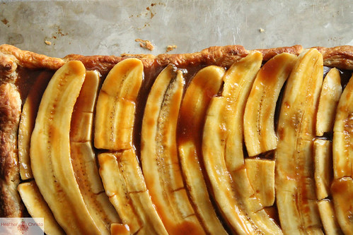 Banana Caramel Tart