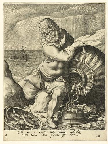 017-El temperamento flemático (elemento agua), Jacob de Gheyn (II), 1596-Rijksmuseum API Collectie