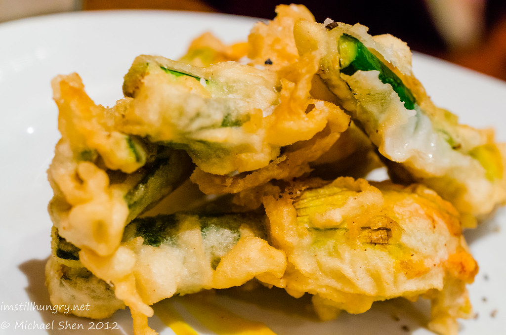 Encasa deep fried zucchini