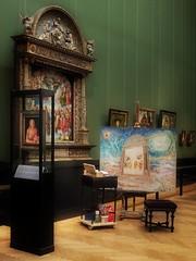 Dürer - Kunsthistorisches Museum Wien - Painting in Progress by Günter Fritsch