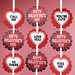 Valentine Cake Pop Tags