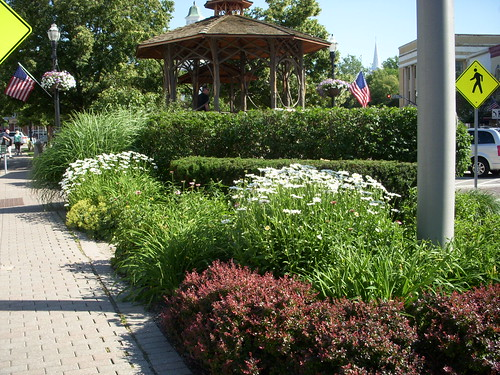 Triangle Park Flagpole Gardens