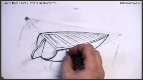 learn how to draw a boat in two point perspective 011