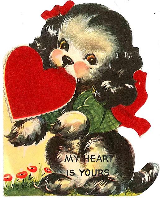 Vintage Valentine cards 09