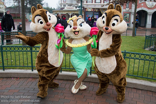 DLP Feb 2013 - Chip, Dale, and Clarice  celebrate Valentines Day