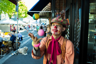 Yarraville Festival Clown