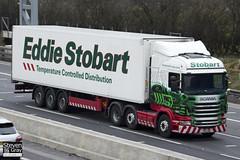 Scania R440 6x2 Tractor - PE11 LND - Charlotte Sofia - Eddie Stobart - M1 J10 Luton - Steven Gray - IMG_2542