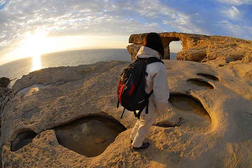 Gozo - Azure window panoramic by Paolo Meitre Liberatini