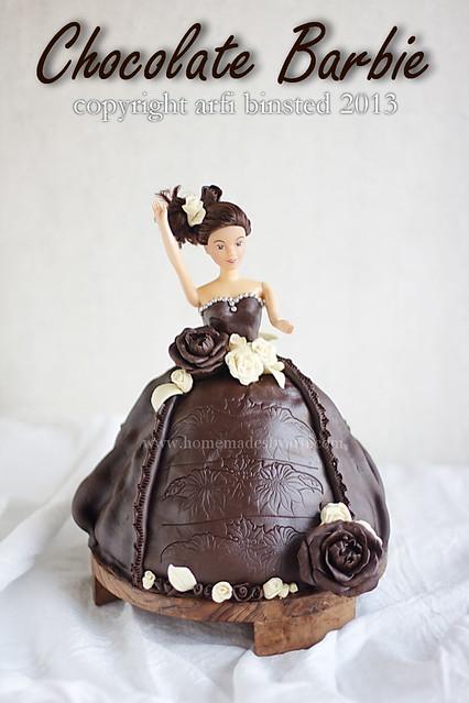 Barbie Chocolate Cake Images : HomeMadeS: February 2013