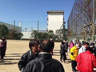 2013/2/24 埼玉県蕨市錦町 郷町会 球技大会(グラウンドゴルフ)