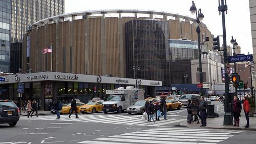 Madison Square Garden, February 2013