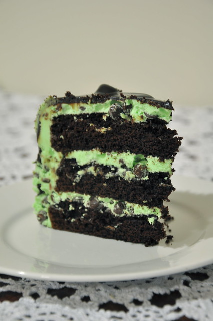 Choc Chip Mint Cake