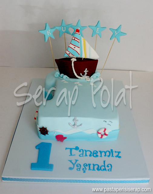 Tekne- 1 yaş pastası