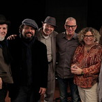 The Mavericks in Studio A, 2/25/2013. Photo by Andrew Arne