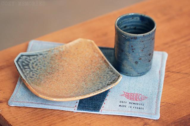 custom made mug rug