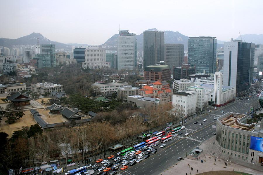 Seoul bird view(day)
