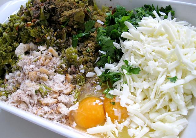 çerkez peynirli brokoli köftesi