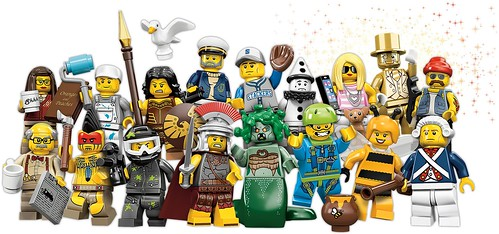 Series 10 minifigs by Brickset