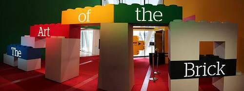 exhibit entrance