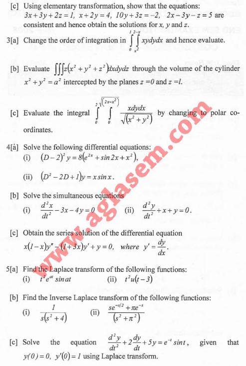 NSIT Question Papers 2008 – 2 Semester - End Sem - COE-EC-EE-IC-113
