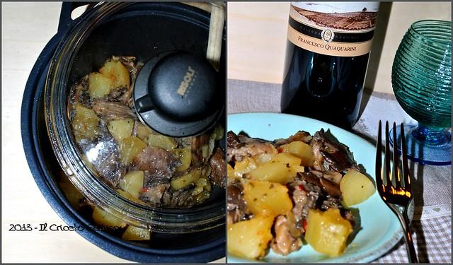 Funghi con le patate (4)