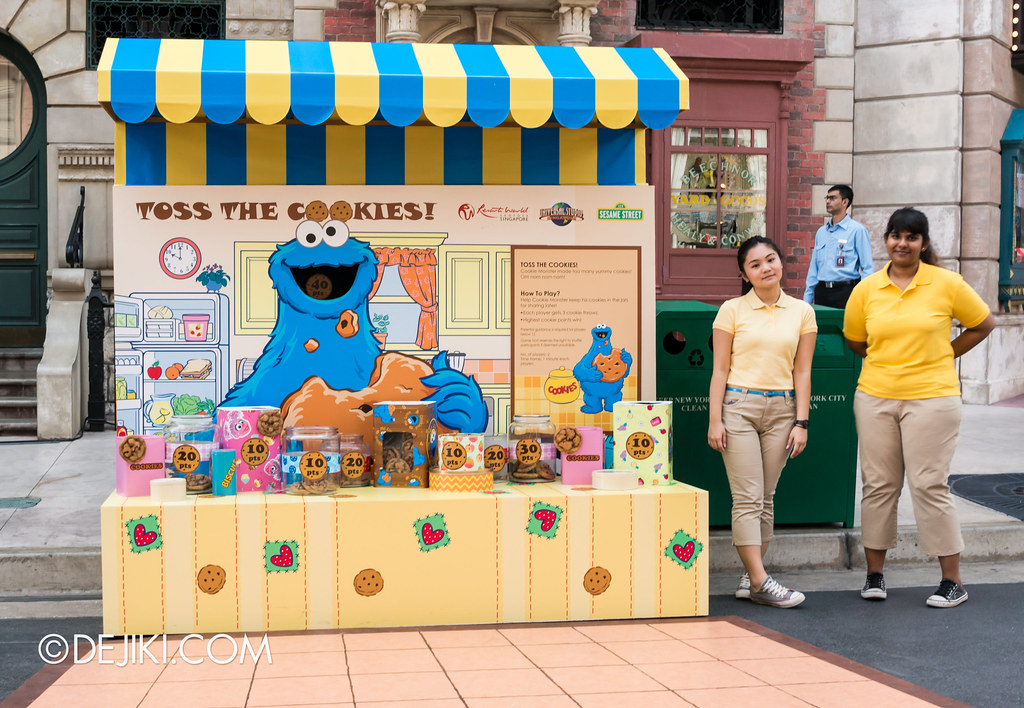 Street Game 2 - Cookie Monster / Toss the Cookies