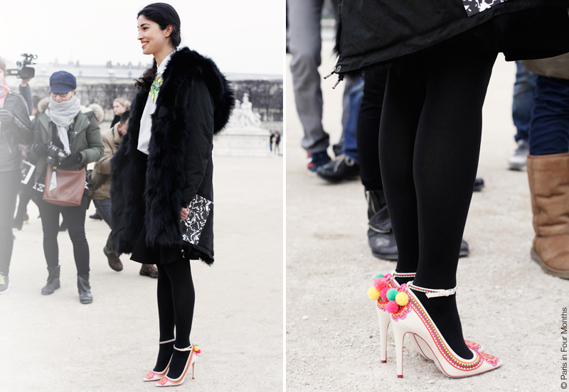 Caroline Issa at Paris Fashion Week FW13 by Carin Olsson (Paris in Four Months)