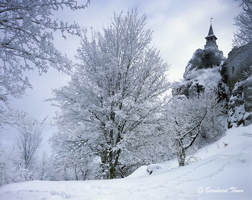Burg Hohenstein in Winter 2010/11