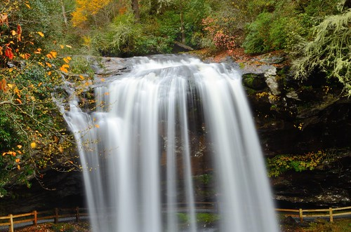 motion fall nature waterfall highlands nikon
