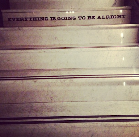 Stairs at Ace Hotel New York taken by Jeanine Hays