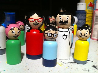 Bob's Burgers peg people
