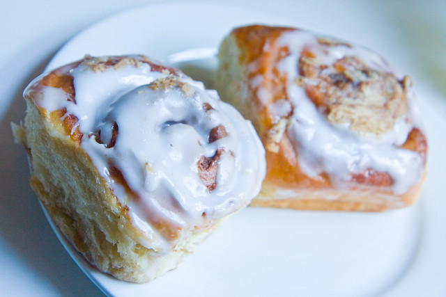 Cinnamon rolls, Rock Hill Bakehouse