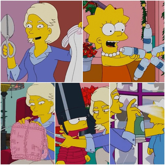 Martha Stewart nos Simpsons