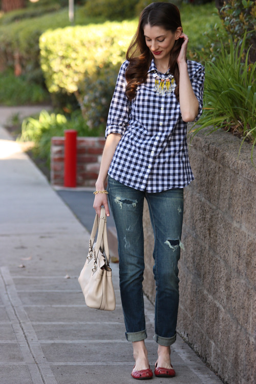 Gingham Casual