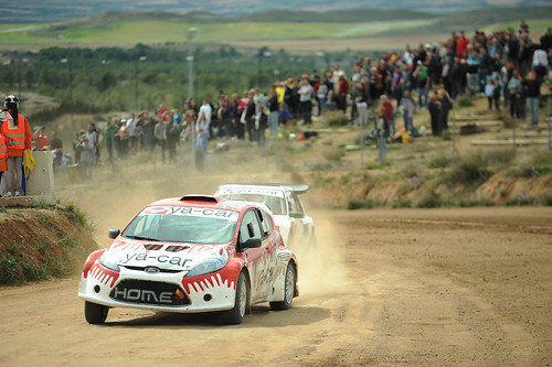 MotorLand Aragón acogió la 1ª cita del Campeonato de España de Autocross 2013