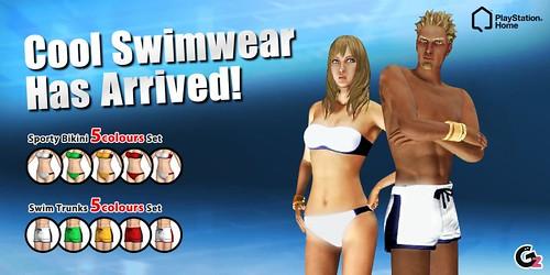 Two-Tone Swimsuits (Granzella)