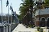 Marina @ Pittsburg, CA Sidewalk along the hourbor towards Old Town.