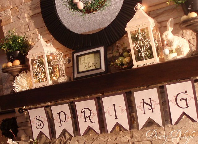 DINING DELIGHT - SPRING MANTEL