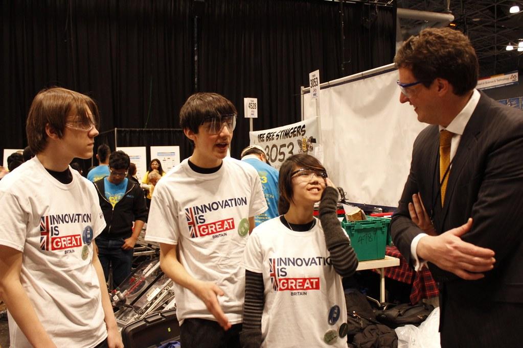 Future UK innovators compete in New York robotics competition