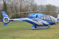 G-HVRZ - 2003 build Eurocopter EC120B Colibri, at the 2013 Cheltenham Festival