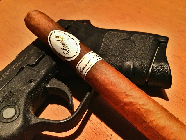 Davidoff Millennium Blend Lancero Cigar Review