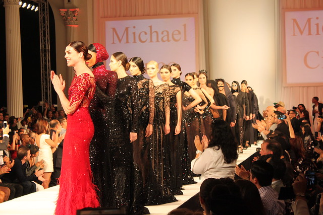 Michael Cinco at Style Fashion Week 2013