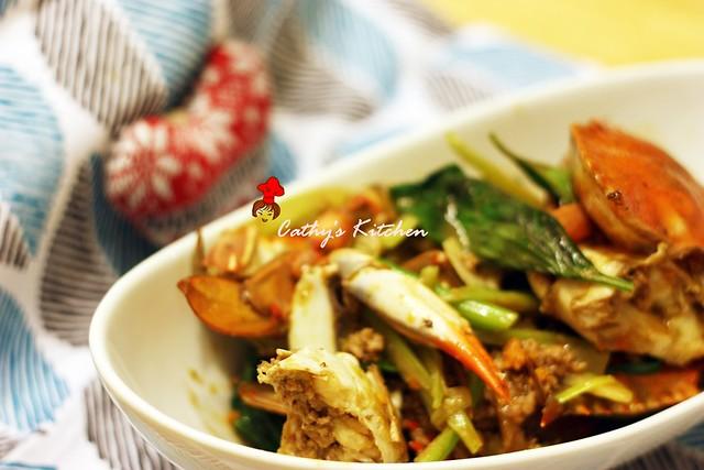 台式肉末快炒螃蟹 Crab with Minced Pork19