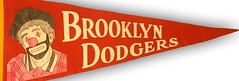 Brooklyn Dodger pennant